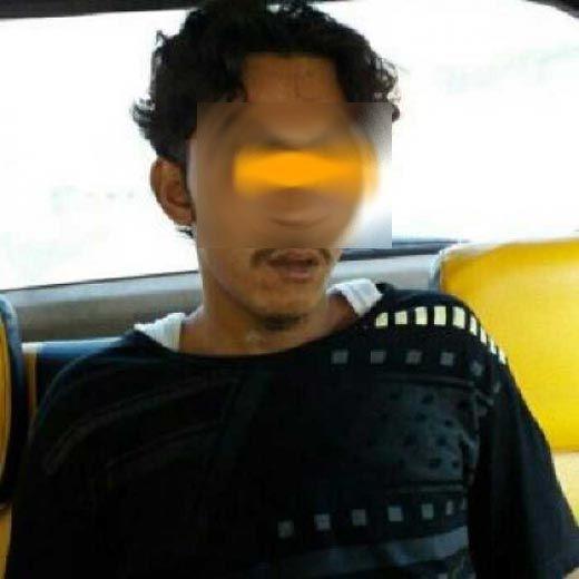 Anak Penggorok Ayah Kandung Ditangkap Polisi Rokan Hilir di Labuhanbatu Sumut