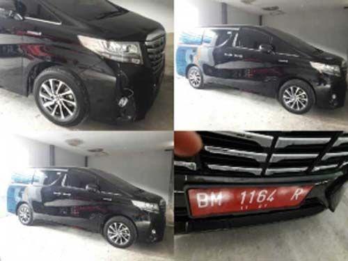 """""""Disembunyikan"""" di Garasi Rumah Sekda, Mobil Toyota Alphard yang Dibeli Pemerintah Kota Dumai Seharga Rp1,6 Miliar Ternyata buat Antar Jemput Tamu """"Agung"""""""