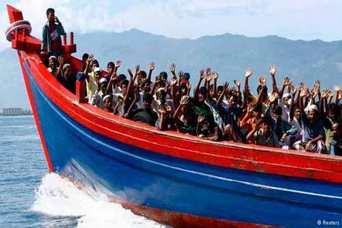 Pencari Suaka dari Timur Tengah Telantar di Kantor Imigrasi Pekanbaru