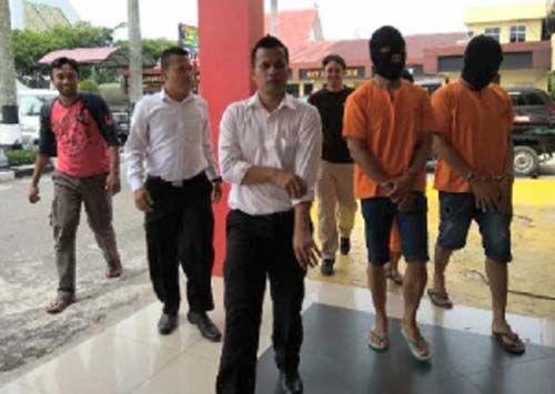 Aksi Man Bocet Cs Membobol Rumah Mewah di Jalan Singgalang Pekanbaru Diotaki Buruh Bangunan yang Masih Buron, Ini Peran Mereka