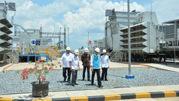 Dari Kabupaten Mempawah Kalimantan Barat, Presiden Jokowi Sekaligus Resmikan Pembangkit Listrik Balaipungut Bengkalis