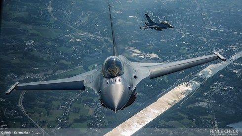 F-16 yang Tergelincir di Lanud Rsn Pekanbaru Bisa Diterbangkan Lagi pada 2019
