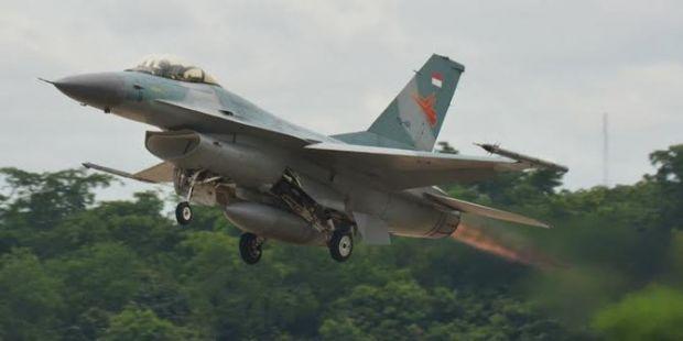 Biaya Perbaikan F-16 yang Tergelincir di Lanud Rsn Pekanbaru Mencapai Rp 25 Miliar