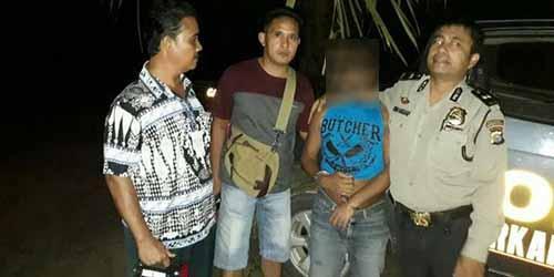 Polisi Tangkap Pria yang Cabuli Anak Kandungnya di Inhu, Kejadiannya Berlangsung Selama 3 Tahun sejak dari Sumut
