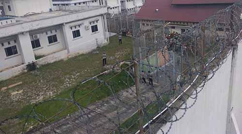 58 Napi Provokator Ricuh Rutan Sialangbungkuk Pekanbaru Dipindahkan ke 3 Lapas