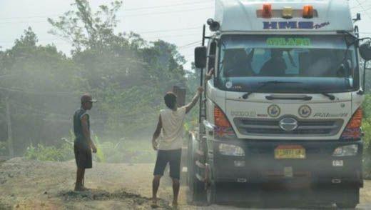 Lakukan Pungli di Km 56 Jalintim Pelalawan, Tiga Oknum CV ADS Riau Ditangkap Polisi