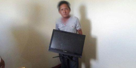 Oknum ASN Disdik Pelalawan Diringkus karena Curi Komputer dan Televisi di Kantor Sendiri