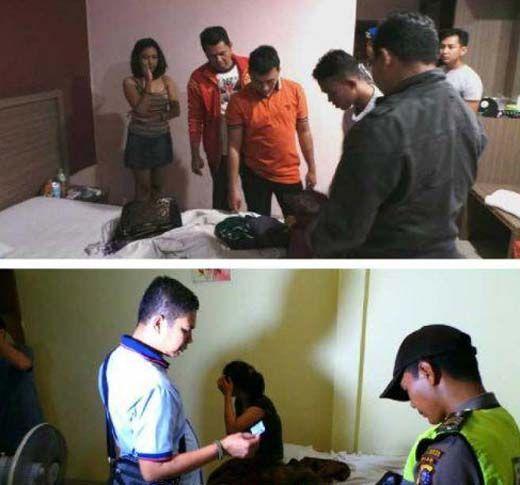 Belasan Remaja Kepergok Indehoi di Hotel Kelas Melati Pekanbaru