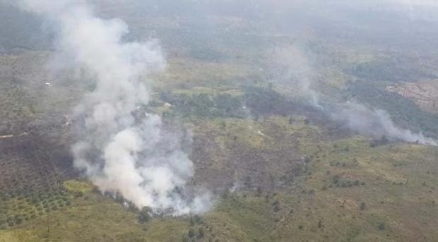 Kementerian LHK Klaim Titik Api Mulai Berkurang