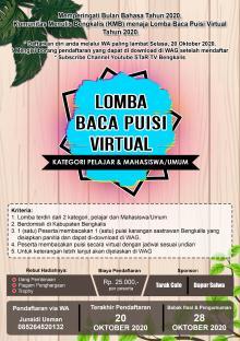 sambut-bulan-bahasa-2020-kmb-taja-lomba-baca-puisi-virtual
