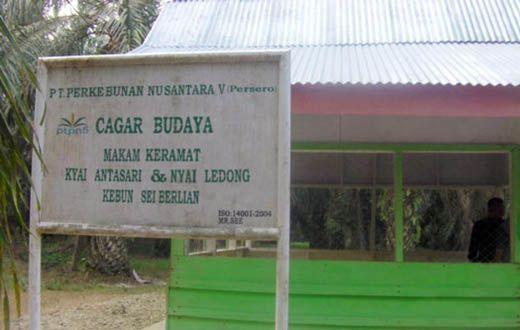 PTPN V Dituding Kaburkan Sejarah Desa Sinamanenek di Tapung Kampar