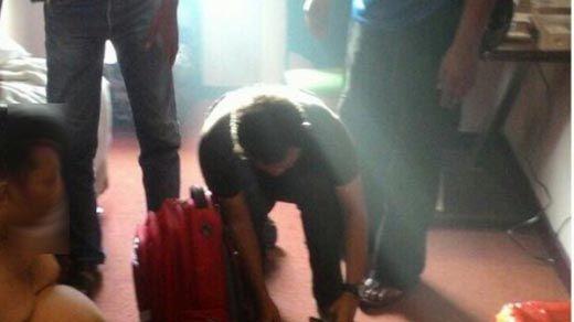 Polisi Tangkap Bandar Narkoba Asal Bengkalis di Hotel Jalan Hang Tuah Pekanbaru