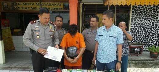 Setelah 34 Kali Beraksi di Kota Pekanbaru, Jambret Berusia 22 Tahun Ini Akhirnya Ditangkap
