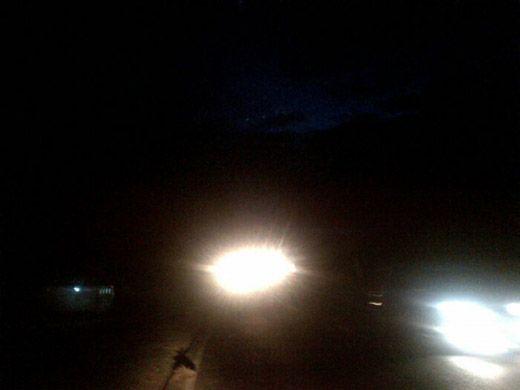 Tak Miliki Lampu Penerangan, Sepanjang Jalan Rengat-Pematangreba Inhu Rawan Kecelakaan dan Perampokan