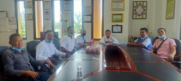 Upayakan Kelanjutan Pendidikan Anak Yatim, Tim Donasi Silaturahmi bersama Camat Bengkalis