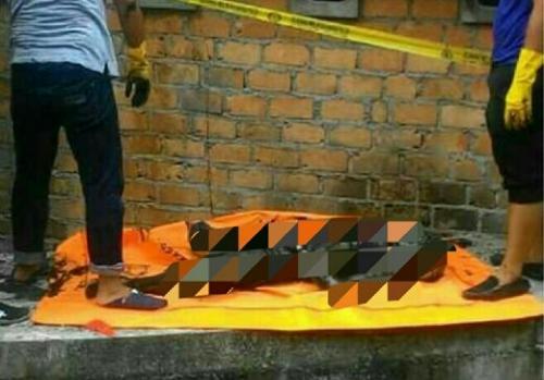 Ngeri! Mayat Laki-laki yang Ditemukan di Parit Jalan Yos Sudarso Selatpanjang Sudah Tak Utuh Lagi karena Dimakan Biawak