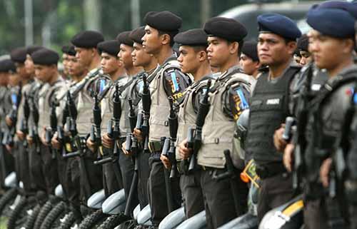 Polisi Terjunkan 800 Personel Amankan Pelantikan Wali Kota Pekanbaru dan Bupati Kampar