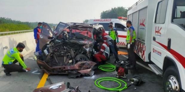 Dua Warga Sumut Meninggal dalam Kecelakaan di Tol Pekanbaru-Dumai