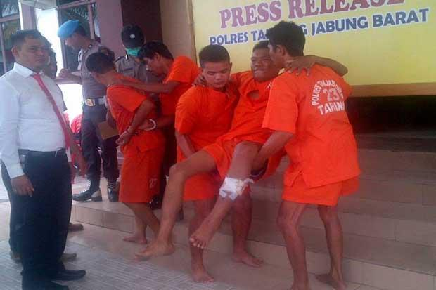 Beraksi di Tanjungjabung Barat Jambi, Begal Jaringan Riau Ditembak Polisi
