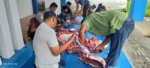 pwi-bengkalis-satusatunya-pwi-kabupatenkota-di-riau-sembelih-hewan-kurban