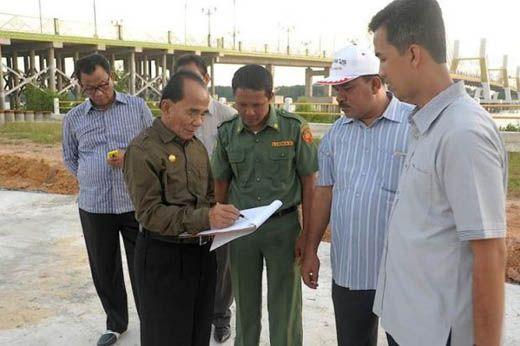 Jalan Panjang Kasus Dugaan Korupsi Jembatan Pedamaran Rohil yang Mangkrak 2 Tahun di Kejati Riau dan Kini Diambil Alih KPK