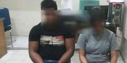 Kisah Asmara Pasangan Kekasih di Kampar Berlanjut ke Penjara setelah Polisi Temukan Narkoba Jenis Ganja di Rumahnya