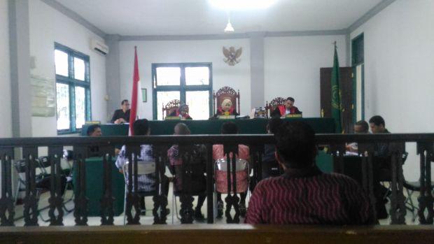 Sidang Gugatan Perlawanan Kasus Sengketa Lahan Masyarakat dengan PT DSI Hadirkan Anggota Dewan Siak