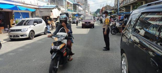 Tekan C3 Jelang Idul Fitri di Tempat Keramaian, Bhabinkamtibmas Bengkalis Lakukan Patroli dan Monitoring