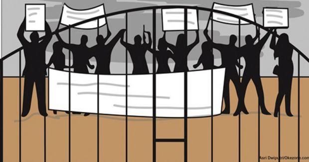 Didemo Ratusan Warga Singingi Hilir, PT Wanasari Nusantara Santai Saja, Eh... Manajer Malah Minta Pengunjuk Rasa Lapor ke Pemkab Kuansing