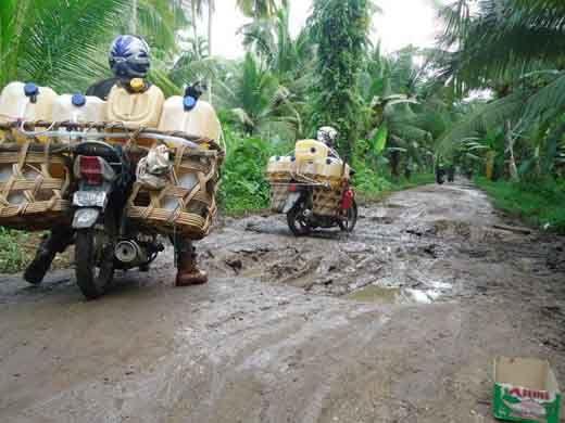 Tiga Kegiatan Fisik Bernilai Ratusan Juta Rupiah di Desa Sukamaju Bantan Bengkalis Diduga Fiktif, Ketua Tim Pengelola Kegiatan Gugup Ditanya Wartawan