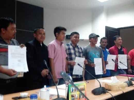 Usai Ancam Wartawan, Wakil Ketua DPRD Inhil Akhirnya Minta Maaf