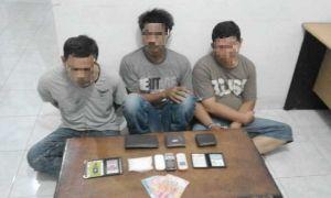 Polisi Sergap Oknum Wartawan Media Cetak dan 2 Temannya Bawa 70 Gram Sabu di Mandau