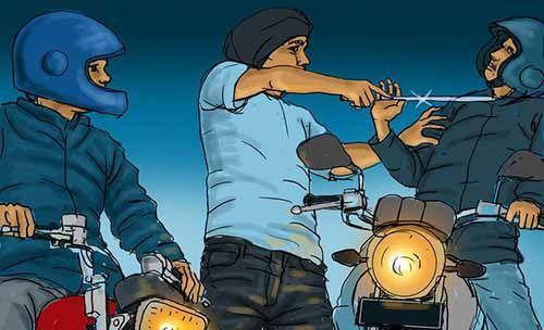 Motor Pelajar di Pekanbaru Dirampas Begal saat Beli Nasi Goreng di Jalan Rajawali Ujung