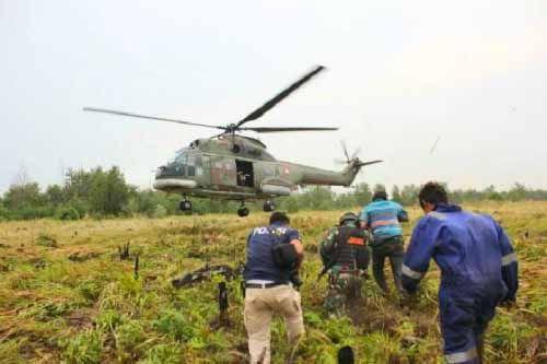 Operasi Perburuan Pembakar Hutan Membuahkan Hasil, 2 Warga Sumut Dibekuk di Rokan Hilir
