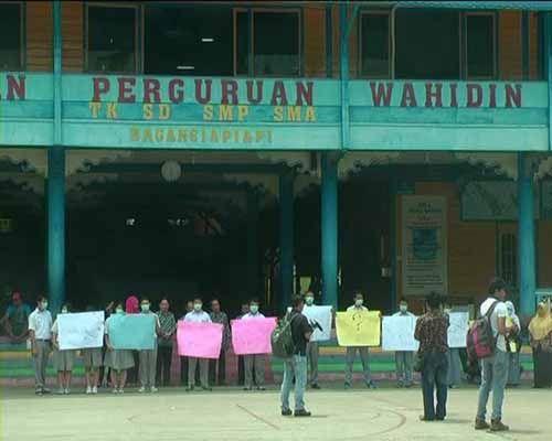 Tak Terbukti Gelapkan Dana Yayasan Wahidin Bagansiapiapi, Awie Tongseng Dibebaskan