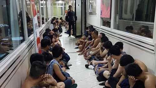 141 Pria Diamankan Saat Pesta Gay di Gym Kelapa Gading Jakarta, Ada Pemuda Asal Pekanbaru dan Padang