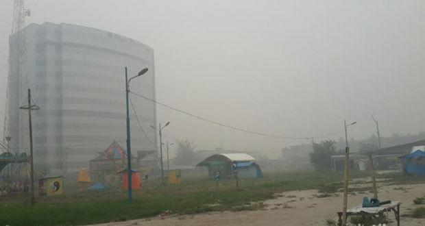 Titik Panas Sumatera Meningkat Jadi 656, Kabut Asap Makin Pekat