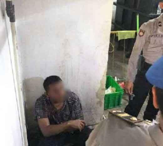 Pria Mengaku Oknum TNI Tertangkap Tangan Curi Motor Wartawan yang Sedang Meliput Razia Tempat Hiburan di Pekanbaru