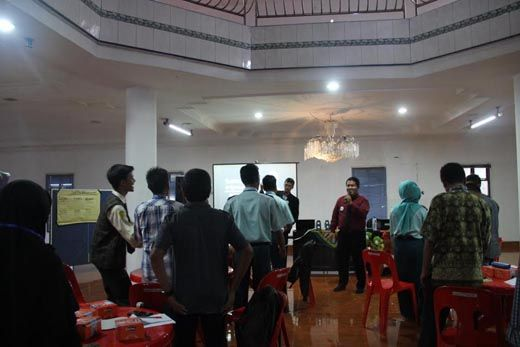 OSIS se-Kota Pekanbaru Dilatih Dasar Kepemimpinan