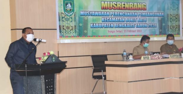 Infrastruktur Jalan dan Kesehatan Jadi Fokus Utama Musrenbang Kecamatan Bukitbatu Bengkalis