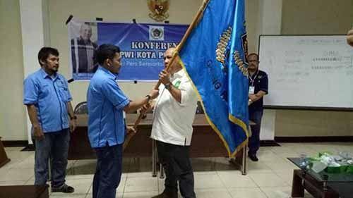Agustiar Pimpin PWI Pokja Kota Pekanbaru Periode 2017-2020