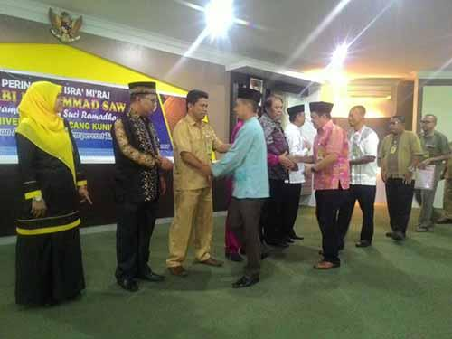 Eddy Asnawi Ajak Civitas Akademika Universitas Lancang Kuning Implementasikan Makna Isra Miraj