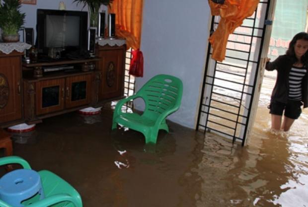 HUT ke-233 Kota Pekanbaru Diwarnai Banjir