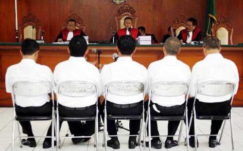 Sidang Perdana, 5 Terdakwa Kasus Dugaan Korupsi Proyek <i>Waterboom</i> Rohil Tak Ajukan Eksepsi