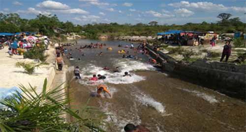 Pemandian Acil, Pesona Baru di Kawasan Sungaipagar Kampar