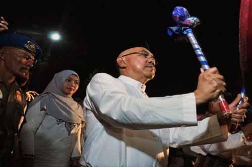 Gubernur Riau Andi Racman Bakal Lepas Kendaraan Pawai Malam Lebaran dari Depan Kediaman