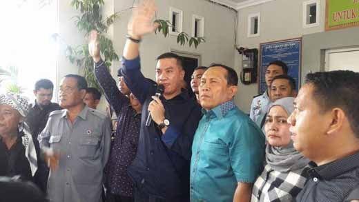 Besok, Polisi Kerahkan 2 Pleton untuk Amankan Sidang Perdana Johar Firdaus dan Suparman di PN Pekanbaru