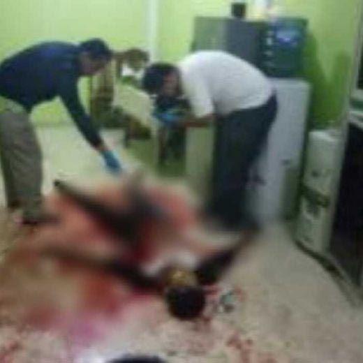 Ngeri! Dalam Kondisi Luka Tikaman di Dada, Warga Kampar Ini Duel Lawan Pencuri hingga Pelakunya Tewas, Istrinya Terluka Disabet Senjata
