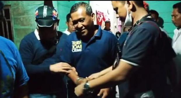 Bersembunyi di Kebun Sawit Wilayah Indragiri Hulu, Buronan Kasus Korupsi di Labura Sumut Ditangkap
