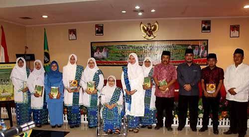 Dua Perayaan Ulang Tahun Balut Pelaksanaan Muswil IV BKMT Riau di Inhu